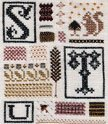 Sampler Of Stitches-Part Seven STU - DR146